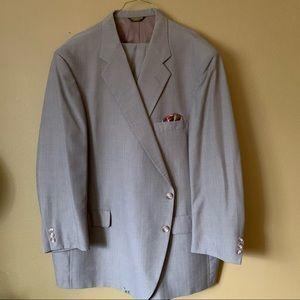 Custom suit by John Weitz